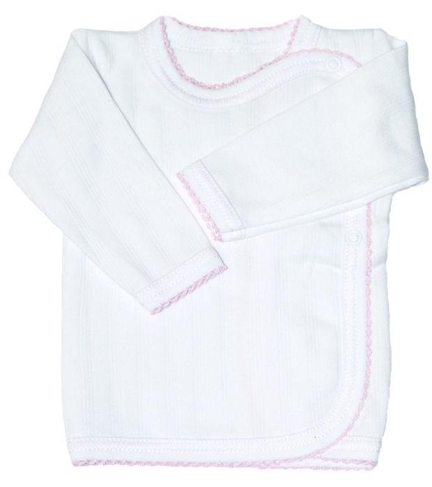 baby hemdchen fl gelhemdchen erstlingsshirt wickelshirt wickelhemdchen ebay. Black Bedroom Furniture Sets. Home Design Ideas
