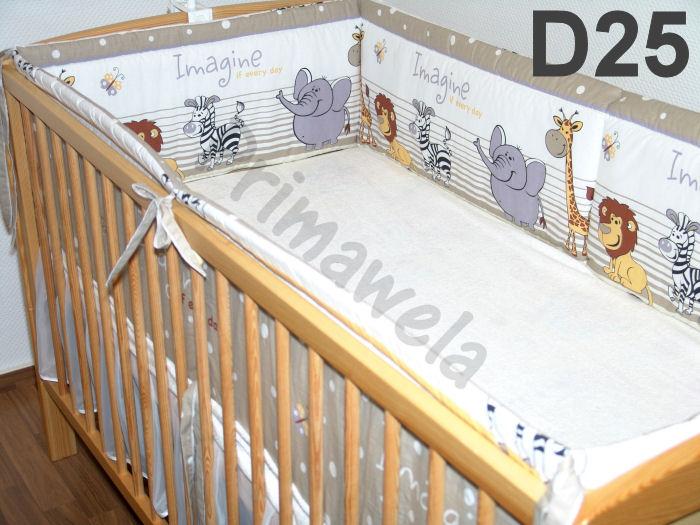 360cm oder 420cm rundum nestchen f r baby bett 70x140 oder 60x120 ebay. Black Bedroom Furniture Sets. Home Design Ideas